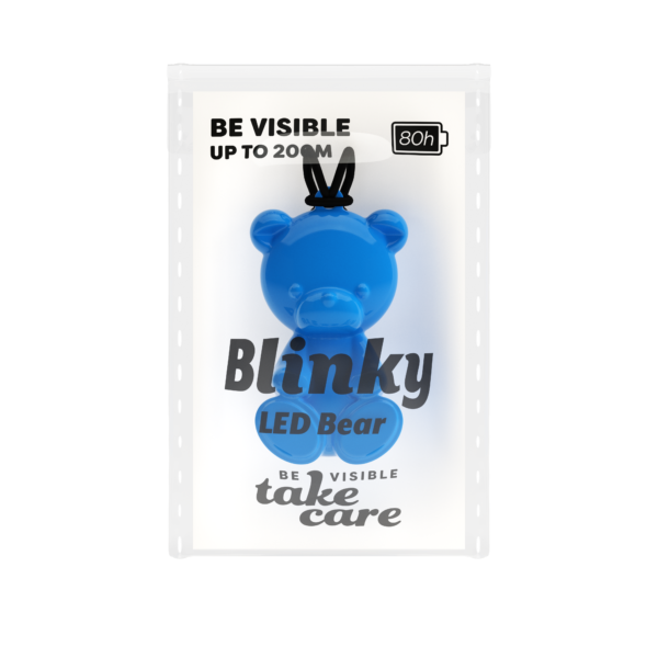 Blinky Packaging Bear Blue