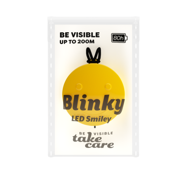 Blinky Packaging Smiley