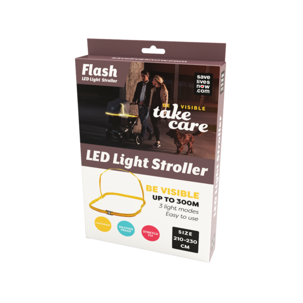 Flash LED Light Stroller
