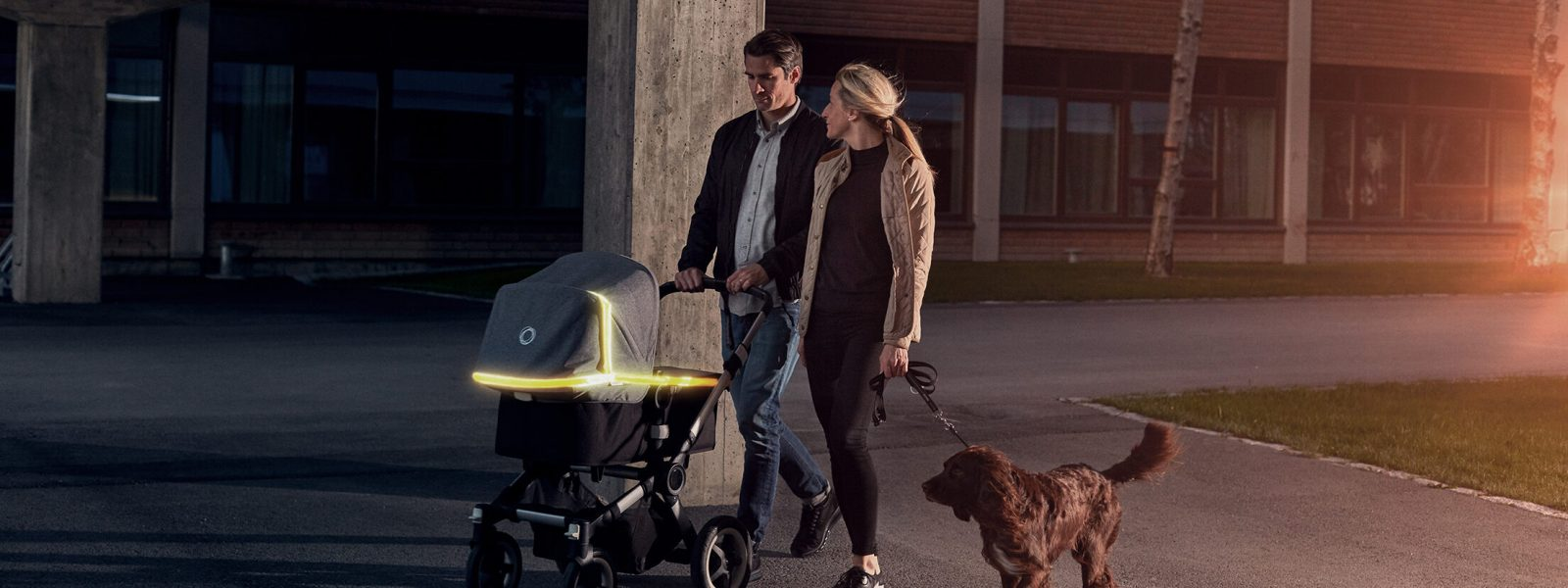 LED Light Stroller